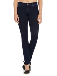 7 For All Mankind Cristen mid rise skinny jean dark indigo