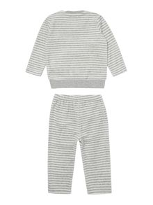Unisex Striped velour outfit