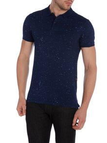 Evin Slim Fit Paint Splatter Polo Shirt