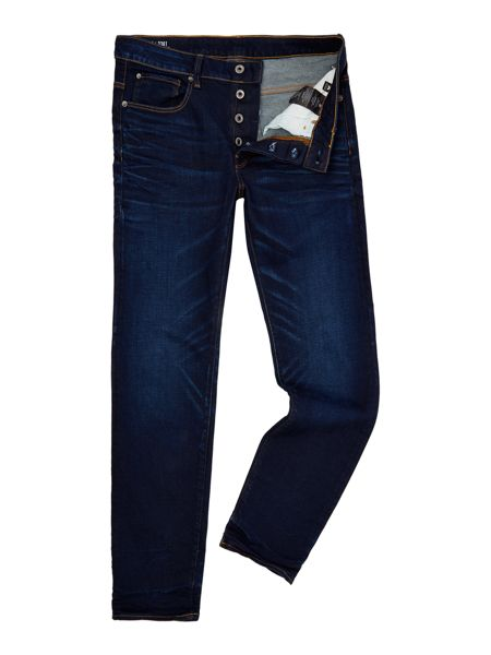 G-Star 3301 Hydrite Straight Mid Rise Jeans