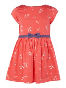 Girls Fit And Flare Floral Dress