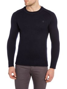 G-Star Bick Slim Fit Ribbed Crew Neck Knit Jumper