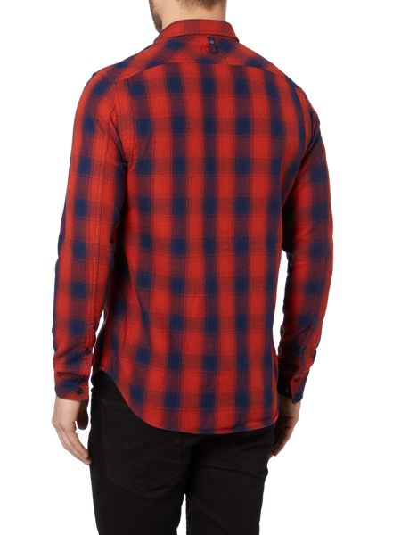 G-Star Wolker Slim Fit Long Sleeve Check Shirt