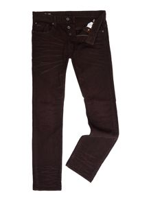 G-Star 3301 Tapered Dark Wash Mid Rise Jeans