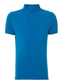 Criminal Pete Plain Polo Slim Fit Polo Shirt