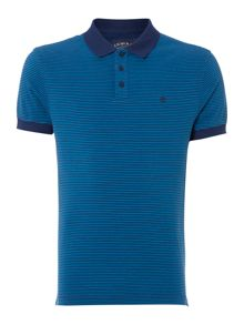 Criminal James Stripe Polo Shirt