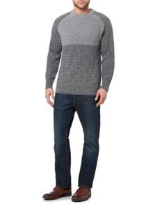 Army & Navy Hawthorne Pattern Crew Neck Jumper