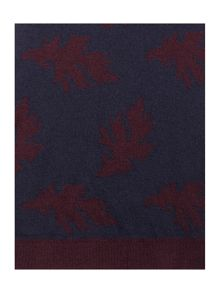 Ted Baker Sor Patterned Fine Knit Scarf