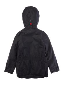 Barbour Boys Nylon Fixed Hood Coat