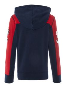 Boys Casual Sweat Hooded Zip Thru Jumper