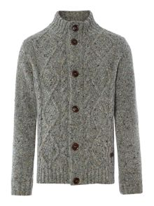 Barbour Boys Knitted Button Thru Cardigan