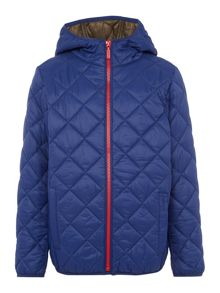 Barbour Boys Quilted Hooded Jacket