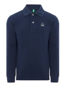 Boys Long Sleeved Polo