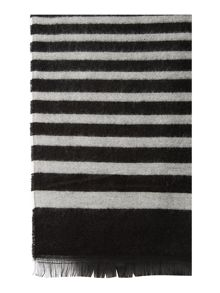 Variegated Striped MW Scarf