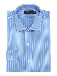 Polo Ralph Lauren Check Slim Fit Long Sleeve Classic Collar Shirt