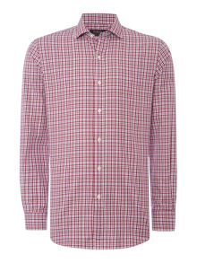Polo Ralph Lauren Gingham Slim Fit Long Sleeve Classic Collar Shirt