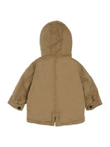 Benetton Boys Hooded Parka Jacket