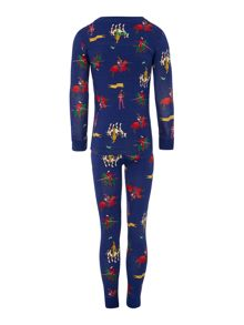 Boys Knight Printed Long Sleeve Pyjamas