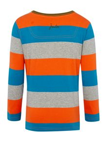 Joules Boys Long Sleeve Top With Contrast Pocket