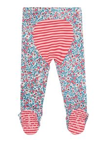 Joules Girls Ditsy Print Reinforced Knee Trousers