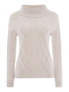 Utopia cable knit jumper