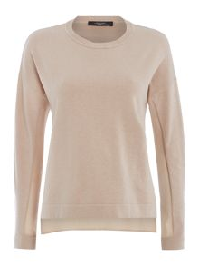 Max Mara Tenebre Silk back knit