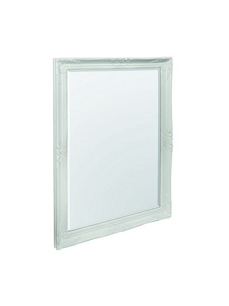 Linea stella cream mirror 90 x 64 cm house of fraser for Miroir 80 x 90