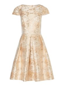 Pied a Terre Rose jacquard dress