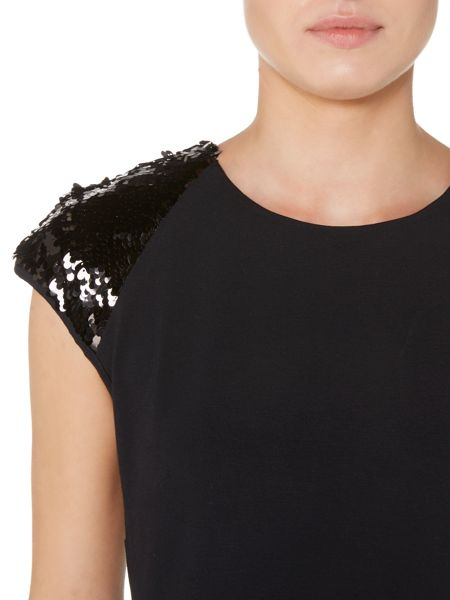 Pied a Terre Ponte sequin dress