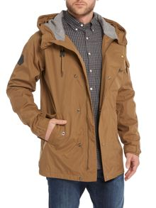 Bellfield Lightweight Zip Up Parka