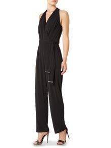 Pied a Terre Farrah belted jumpsuit