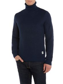 Bellfield Roll Neck Knitted Jumpers