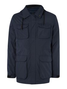 Casual Showerproof Full Zip Field Jacket