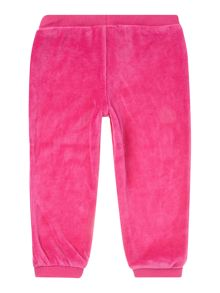 Girl Velour Jogging Bottoms