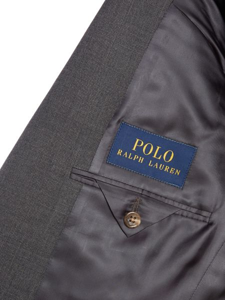 Polo Ralph Lauren Bedford Slim Fit Prince Of Wales Check Suit