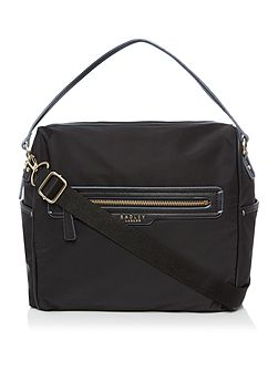 Radley Mercer street large black crossbody bag