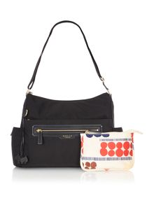 Mercer street large black baby crossbody bag