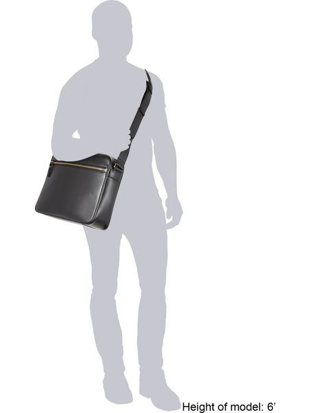 Paul Smith London Leather Messenger Bag