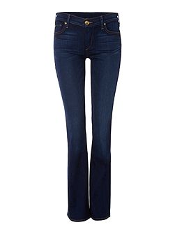 Becca twisted seam bootcut jean in dimmed hideawy