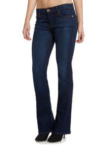 True Religion Becca twisted seam bootcut jean in dimmed hideawy