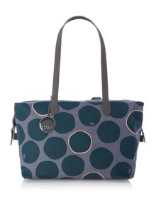 Spot on green medium tote bag