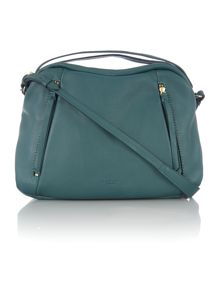 Brondesbury large green hobo cross body bag