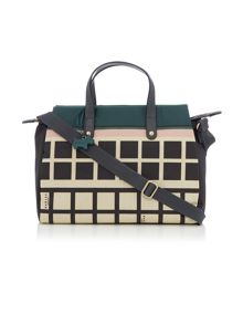 Radley Downtown multi coloured cross body tote bag