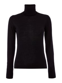 Lampara polo neck knit jumper