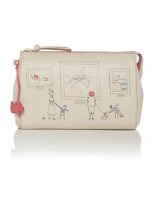 Exhibition road neutral clutch picture bag