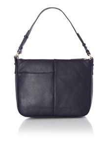 Maddox street navy shoulder cross body bag