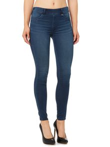 True Religion The runway legging jean in waves wash