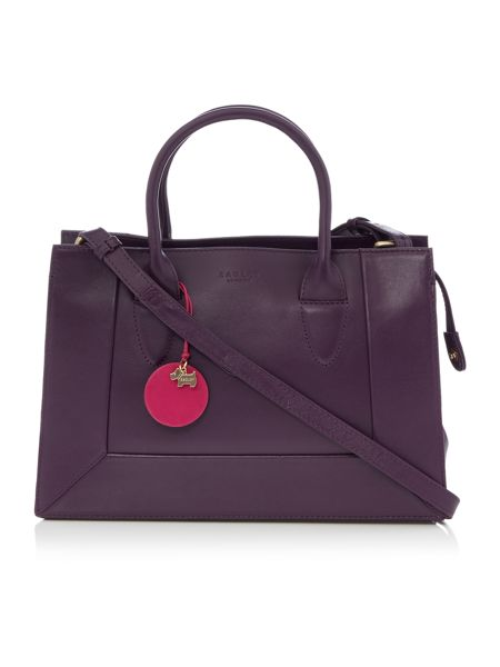 Radley Border purple small cross body tote bag - House of Fraser