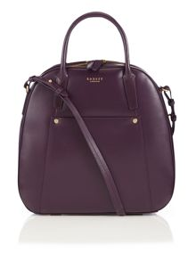 Highbury barn large purple cross body bag