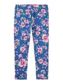 Girls All Over Print Floral Sweat Pants